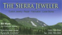 The Sierra Jeweler