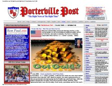 Welcome to the Porterville Post