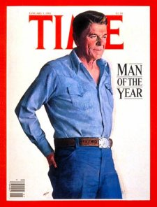 President Ronald Reagan : 1981 Man of the year