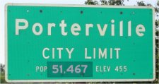 Welcome to Porterville, CA. Population 51,467